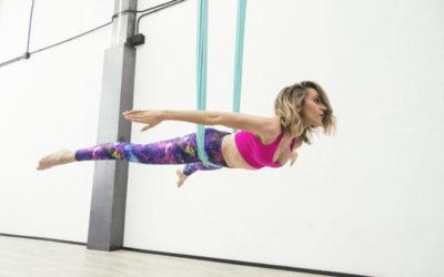 ⭐️ AirFit, el deporte con telas que te permite volar
