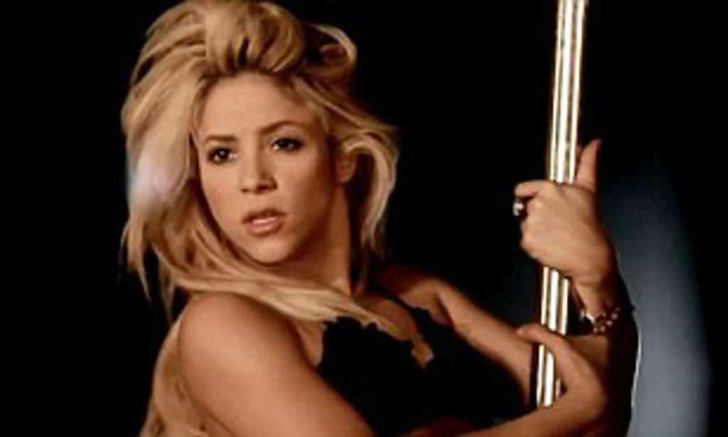 ¿sabías que Shakira practica Pole Dance un poco rabiosa?